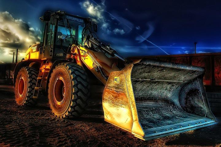 Llantas para vehiculos de construcción o industriales